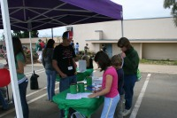 Santee Teen Center Booth