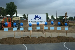 Groundbreaking Ceremony at Cajon Park School
