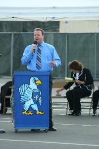 School Board Memeber Dustin Burns