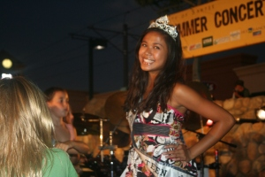 Miss Santee Teen Lizzie Lingasin Rockin' with Y3K