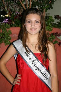 Santee's Miss Congeniality, Emily Zobel.  Does she look at all like Sandra Bullock?