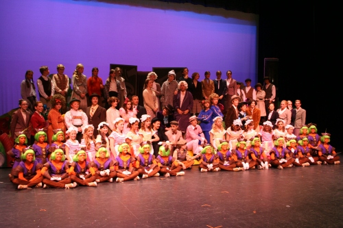 "The Cast of East County CYT's ""Willy Wonka"""