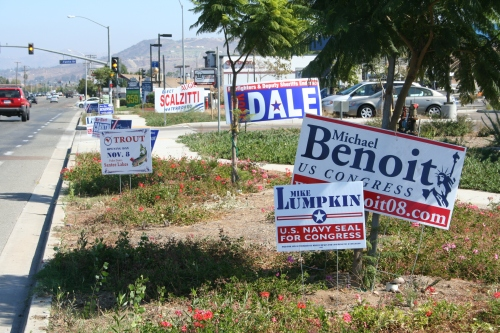 Political Signs MGR