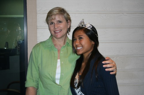 Miss Santee Teen and Mom