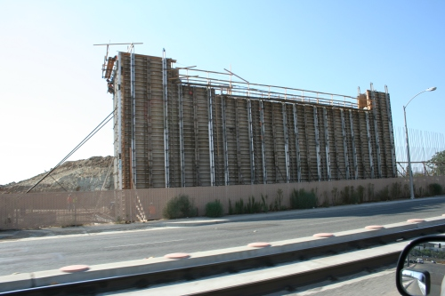 Bridge Support at Cuyamaca Street