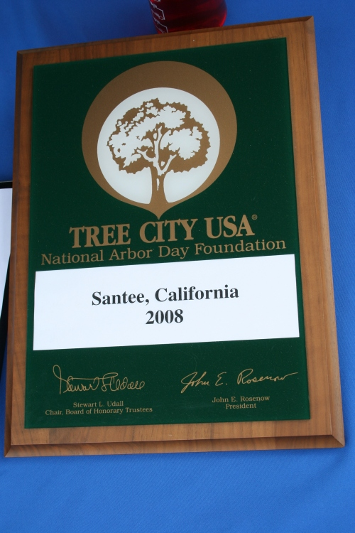 Santee - Tree City USA 2008
