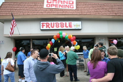 Frubble Grand Opening
