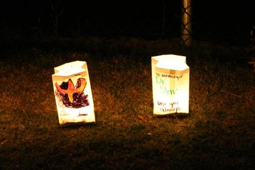 Memorial Luminarias
