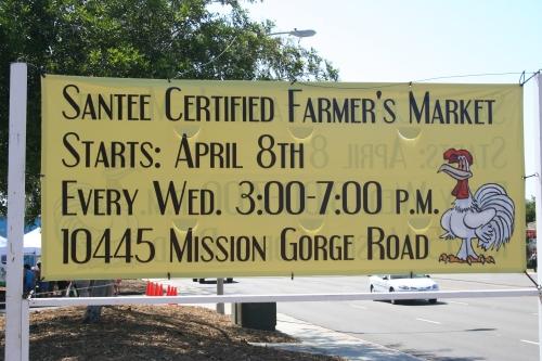 Santee Farmer's Market