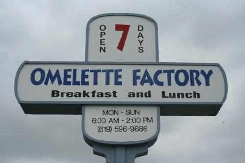 The Omlette Factory
