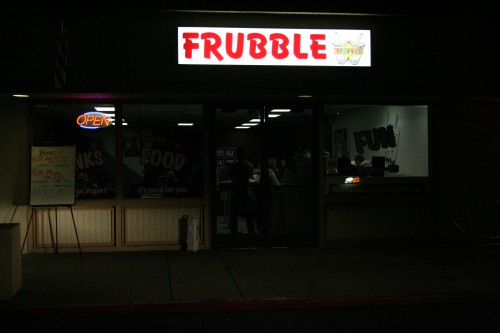 Frubble Open Mic Night