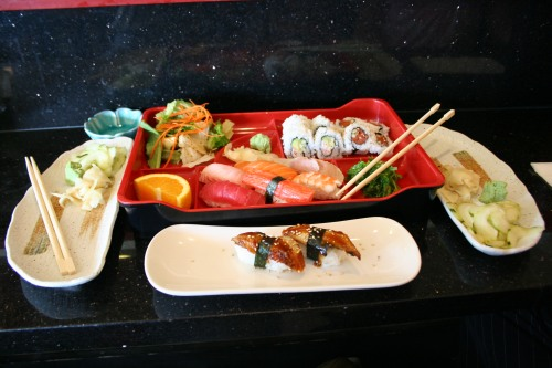 Sushi Sampler and Unagi