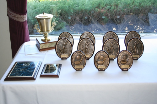 Annual Golf Classic Trophies and Awards