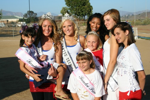 Miss Santee, Miss Santee Teen, Runners-Up, and Princesses