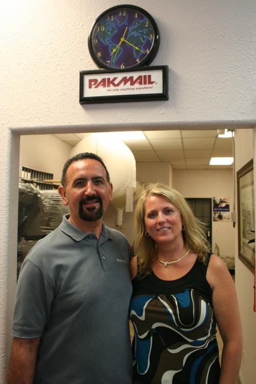 Ted & Kelli Tamez of PakMail