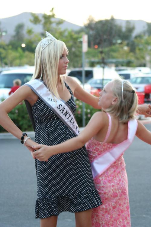Miss Santee Teen and Santee Princess