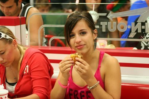 Kristin Meets Hamburger