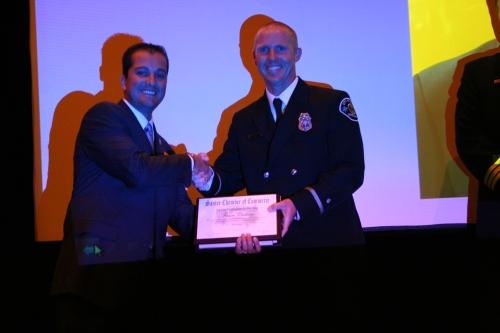 Jason Custeau - Firefighter of the Year
