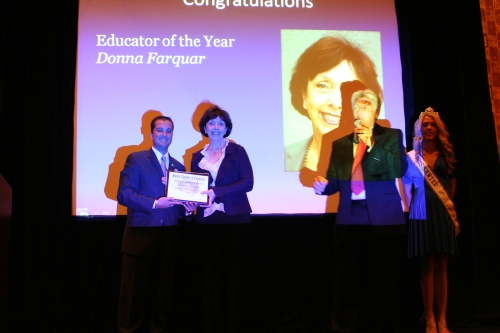 Donna Farquar - Educator of the Year