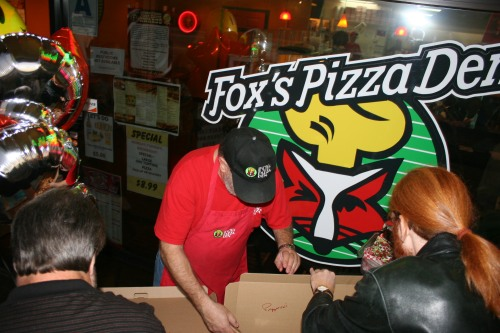 Goodies from Fox's Pizza Den