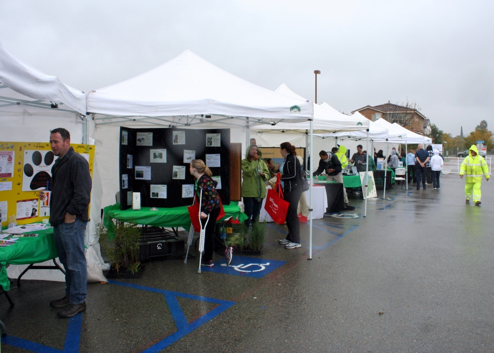Santee Residents Brave Rain for SanTree Fest (1/3)